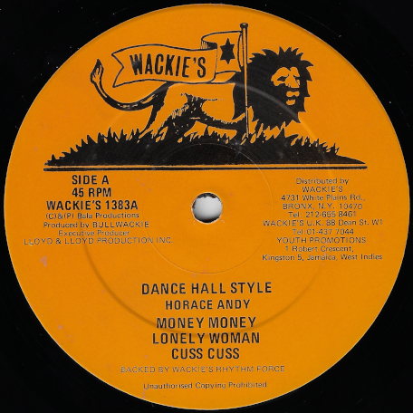 Dance Hall Style - Horace Andy