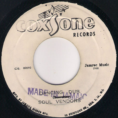 Dancing Mood / Dancing Dub - Delroy Wilson and The Soul Vendors