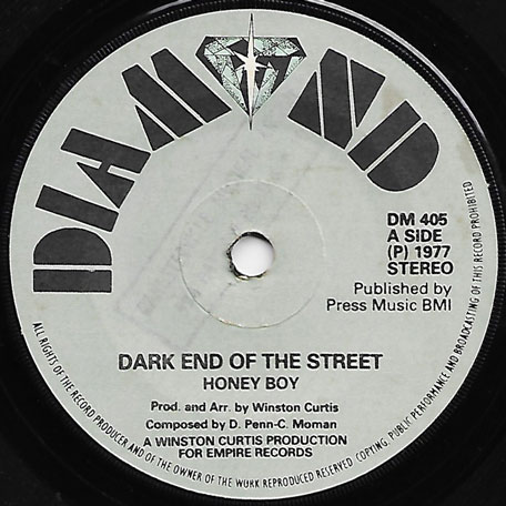 Dark End Of The Street / Street Corner Love Inst - Honey Boy / Buggis