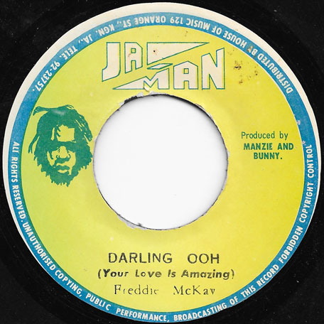 Darling Ooh / Ver - Freddy McKay / Freddy And The Rebels