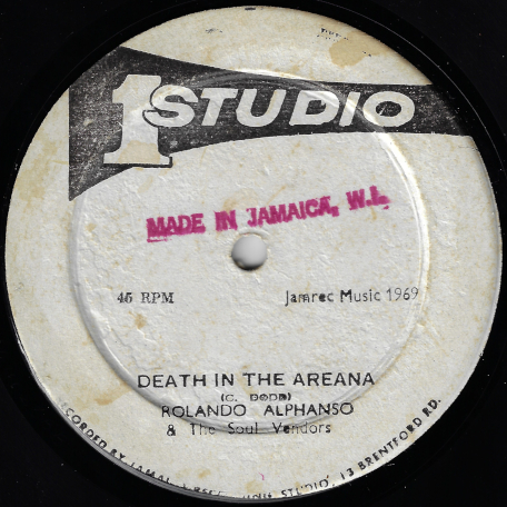 Death In The Arena / Equal Rights - Roland Alphonso And The Soul Vendors / The Heptones / Jah Buzz / Freddie McGregor