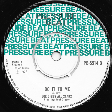Tipatone / Do It To Me - King Smiley and The Joe Gibbs All Stars