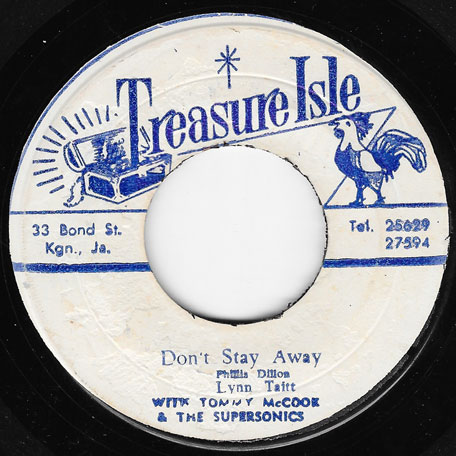 Dont Stay Away / Lock Jaw - Phyllis Dillon With Tommy McCook And The Supersonics / Dave Barker And The Upsetters