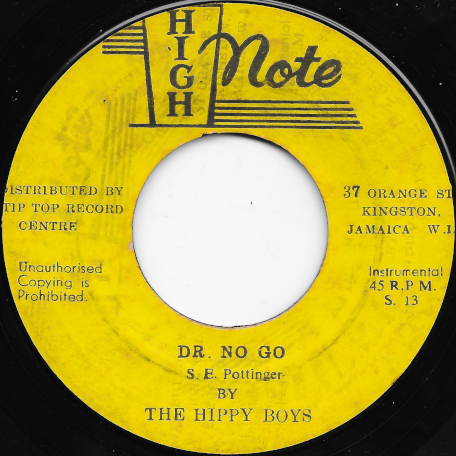 Dr No Go / Faberge - The Hippy Boys / Baba Brooks And His Recording Band