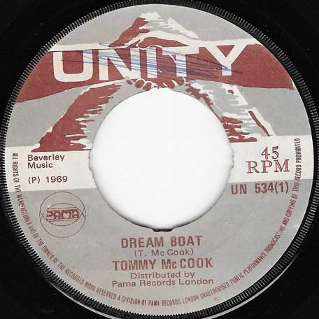Dream Boat / Tommys Dream - Tommy McCook