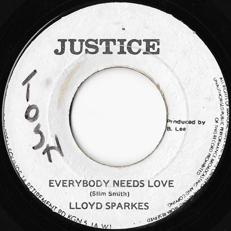 Everybody Needs Love / Ver - Lloyd Parks / The Agrovators