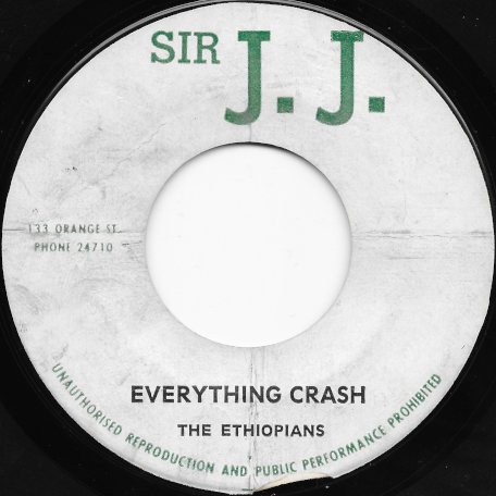 Everything Crash / Losing You - The Ethiopians
