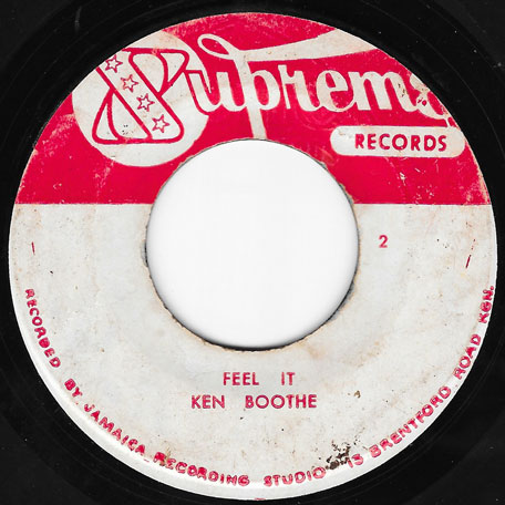 Feel It / The Train Is Coming - Ken Boothe