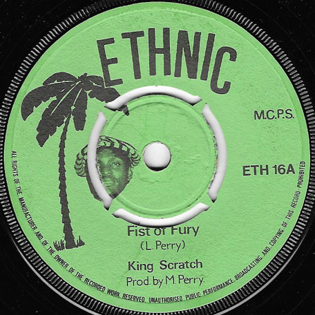 Fist Of Fury / Spiritual Whip - Lee Perry / Jah Lloyd