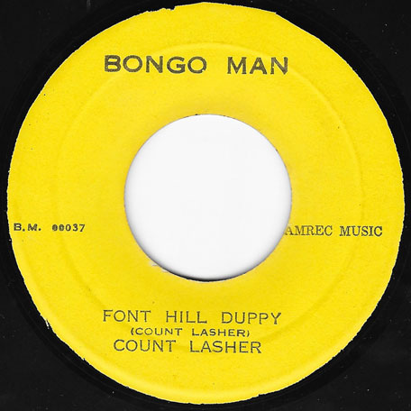 Font Hill Duppy / Duppy Dub - Count Lasher And The New Establishment