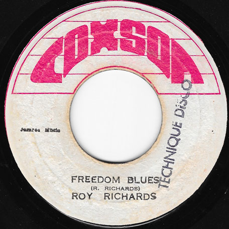 Freedom Blues / Freedom Dub - Roy Richards And The Sound Dimension