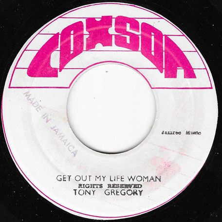 Sugar Cane / Get Out Of My Life Woman - The Soul Brothers / Tony Gregory
