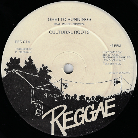 Ghetto Runnings / Dub Runnings - Cultural Roots