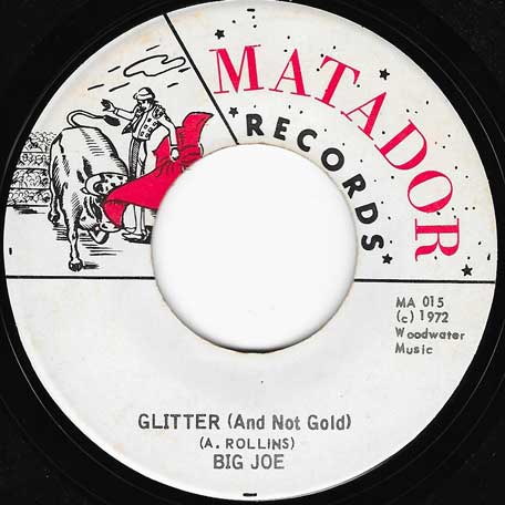 Glitter (And Not Gold) / Ver - Big Joe