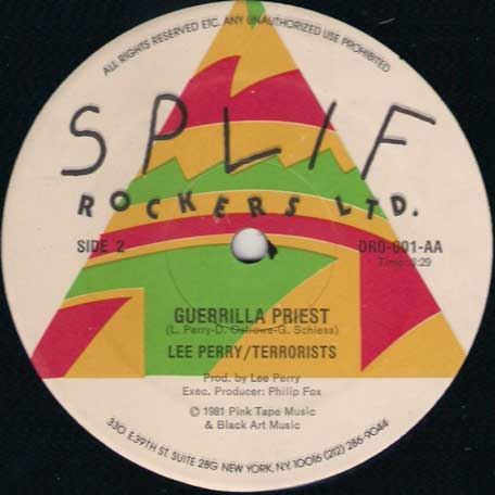 Love Is Better Now / Guerilla Priest - The Terrorists and Lee Perry