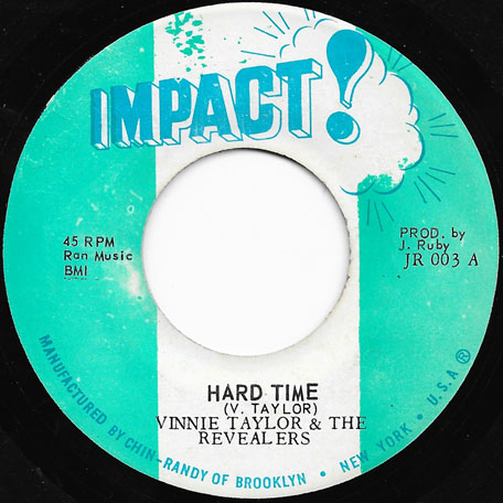 Hard Time / Ver - Vinnie Taylor And The Revealers