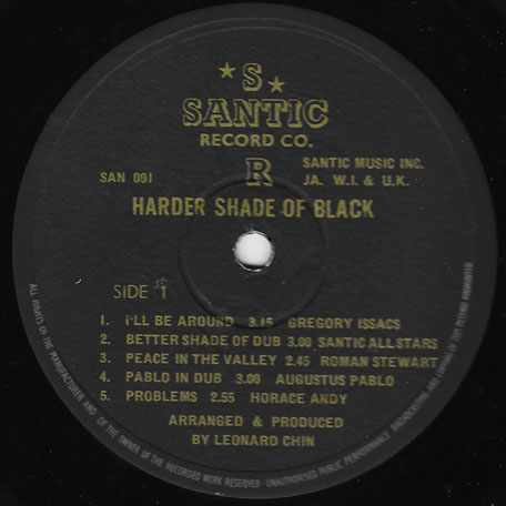 Harder Shade Of Black - Various..Augustus Pablo..Horace Andy..Roman Stewart