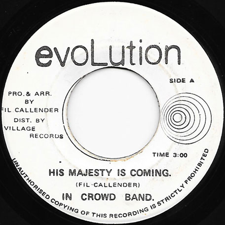 His Majesty Is Coming / Part II - In Crowd Band