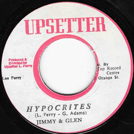 Hypocrites / Ninefinger Jerry Lewis - Jimmy And Glen