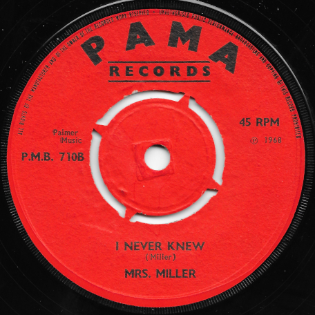 Bang Bang Lulu / I Never Knew - Lloyd Terrel Actually Lloyd Charmers / Mrs Miller