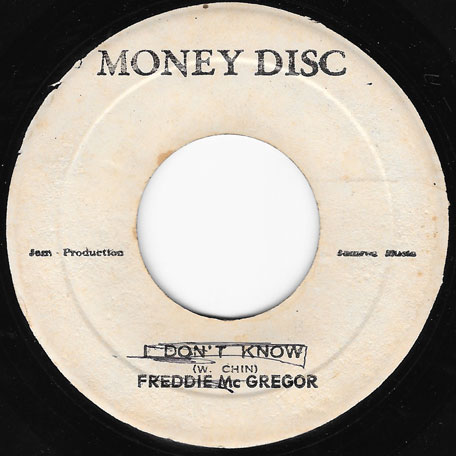 I Dont Know / Ver - Freddie McGregor And The Dimension