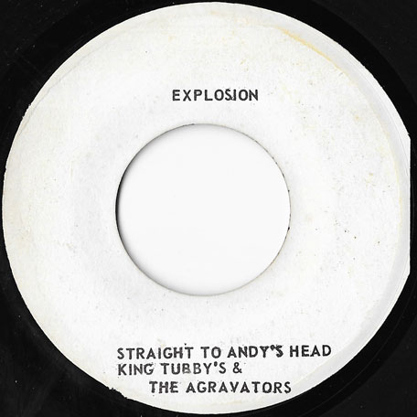 Left With A Broken Heart / Straight To Andys Head - Johnny Clarke / King Tubby And The Aggrovators