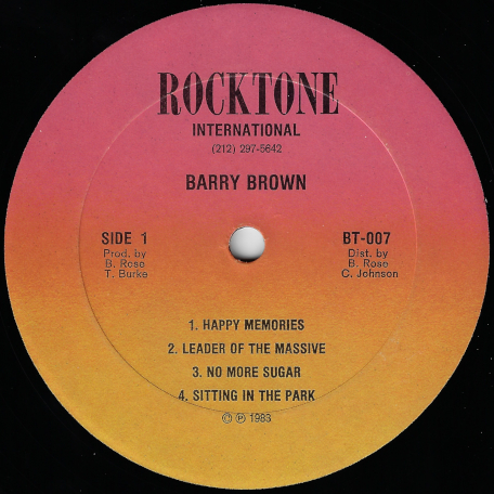 Im Still Waiting - Barry Brown