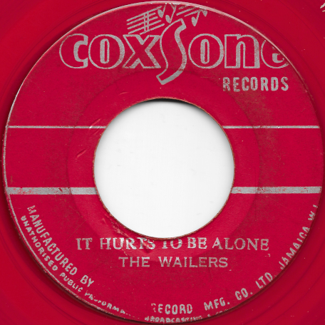 It Hurts To Be Alone / Mr Talkative - The Wailers