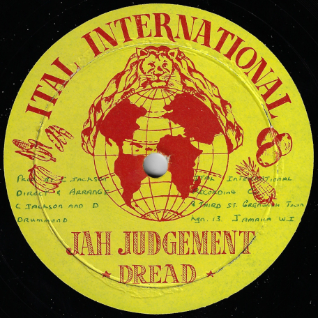 Jah Judgement Dread / Dub - Derrick Drummond And DJ Mikes