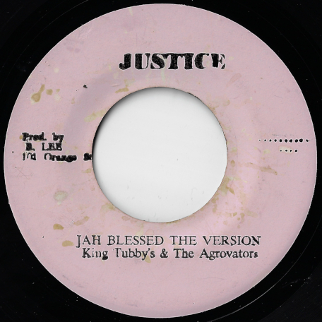 Jah Jah Bless The Dread Locks / Jah Blessed The Version - The Mighty Diamonds / King Tubby And The Aggrovators