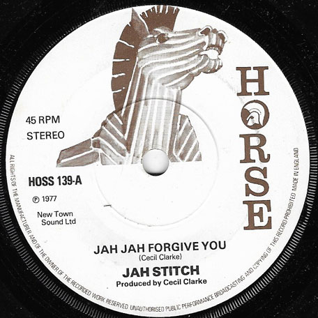 Jah Jah Forgive You / Dub - Jah Stitch / King Jammys