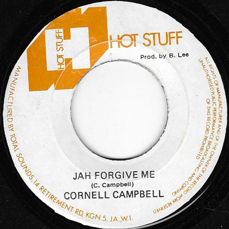 Jah Forgive Me / Ver - Cornell Campbell