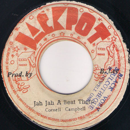 Jah Jah A Beat Them / Ver - Cornell Campbell