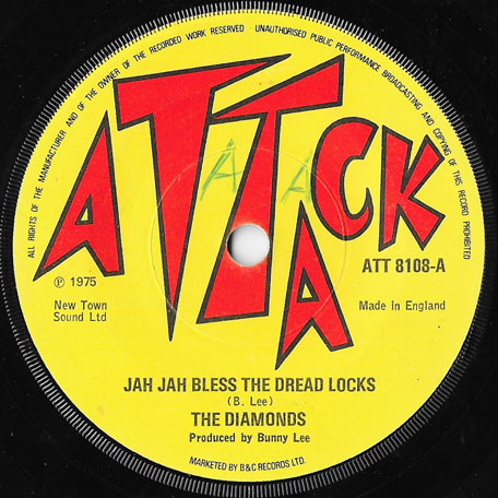 Jah Jah Bless The Dreadlocks / Jah Jah Version - The Diamonds / The Aggrovators / King Tubby