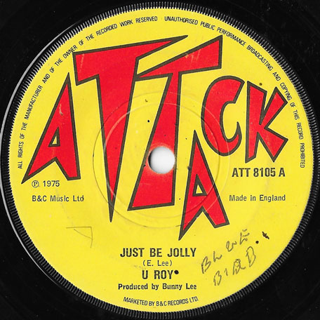 Just Be Jolly / Dub With I - U Roy