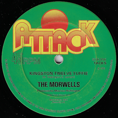 Kingston Twelve Tuffie / Jammin For Survial - The Morwells / Prince Jammy