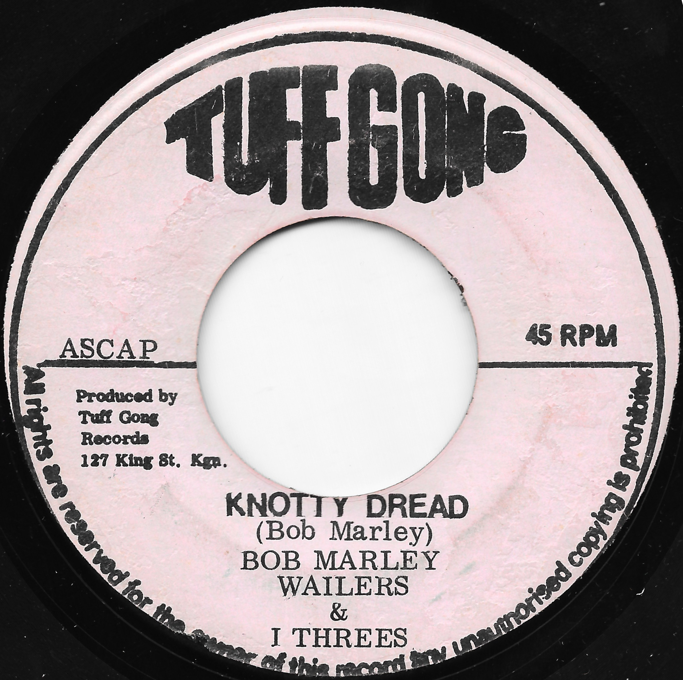 Knotty Dread / Ver - Bob Marley And The Wailers And The I Threes / The Wailers