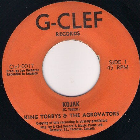 Kojak / The Meduca - King Tubby and The Aggrovators