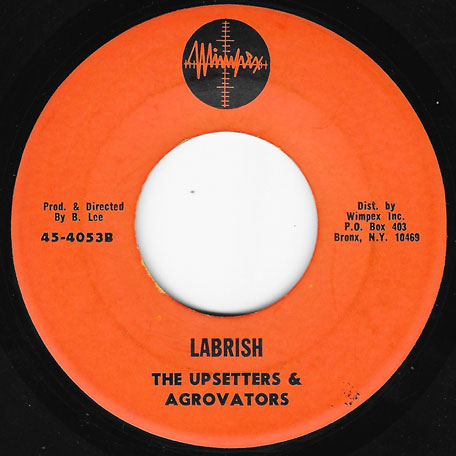 Power Pressure / Labrish - Cornel Campbell / The Upsetters And The Aggrovators