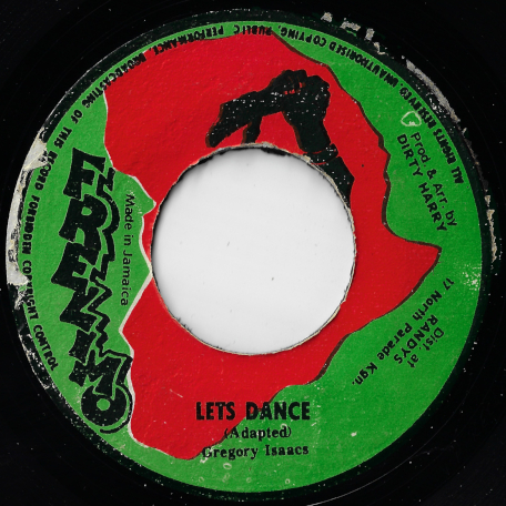 Lets Dance / Ver - Gregory Isaacs / Dirty Harry And The All Stars