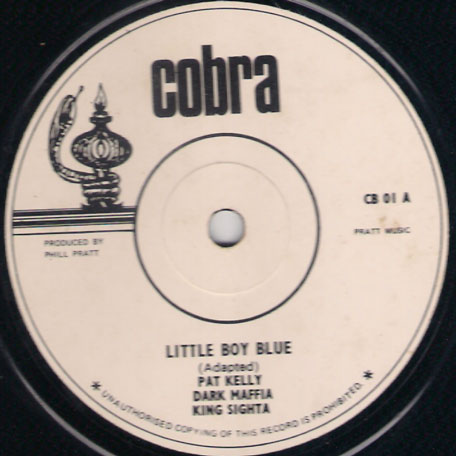 Little Boy Blue / To Each His Own - Pat Kelly with Dark Mafia and King Sighta