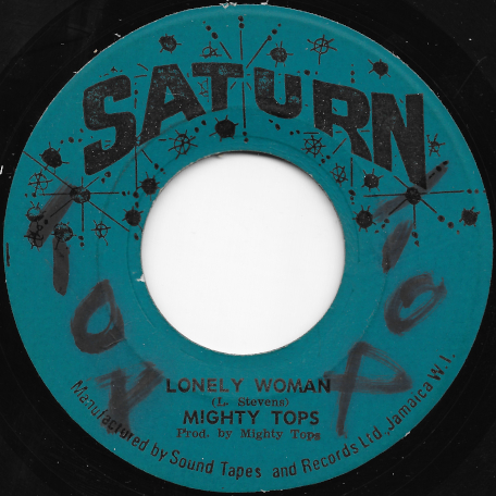 Lonely Woman / Lonely Ver - The Mighty Tops
