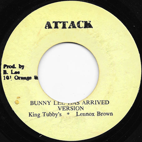 Look What Youve Done / Bunny Lee Has Arrived Ver - John Holt / King Tubby And Lennox Brown
