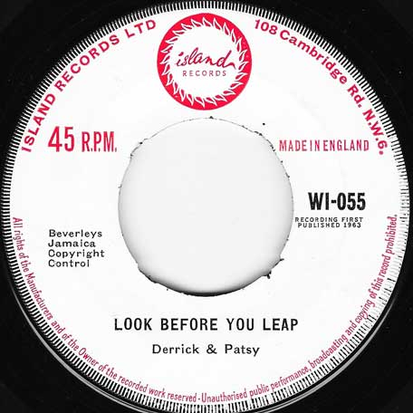 Look Before You Leap / Sea Wave - Derrick And Patsy