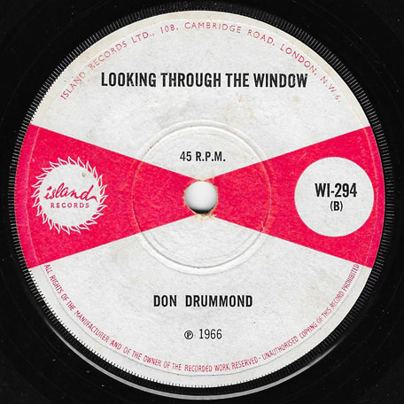 Ska Bostello / Looking Through The Window - The Soul Brothers / Don Drummond