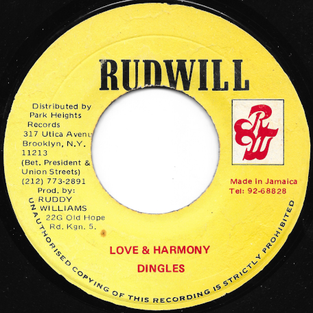 Love And Harmony / Ver - The Dingles