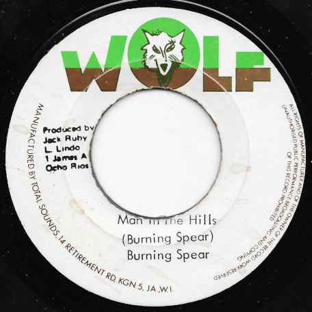 Man In The Hills / Cultivation Ver - Burning Spear