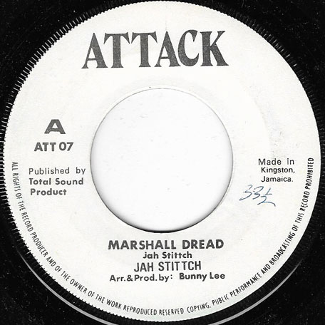 Marshall Dread / Oh Jah Forgive (Ver) - Jah Stitch