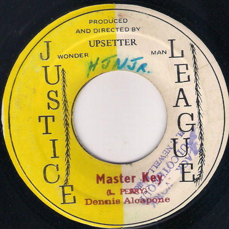 Master Key / Key Hole (Ver) - Dennis Alcapone / The Upsetters