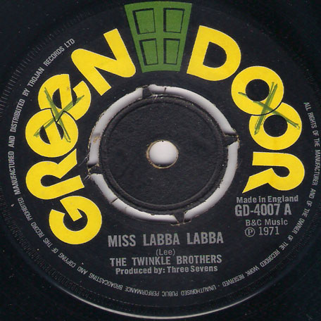 Miss Laba Laba / Best Is Yet To Come - The Twinkle Brothers